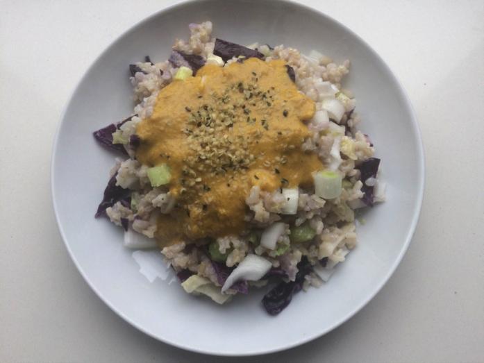 comida saludable y revitalizante